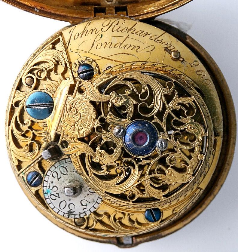 Late 18th Century Verge Fusee John Richardson London