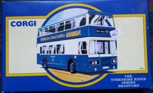 W285-5.1 -Corgi 91862 . The Yorkshire Rider Series Bradford  British Trolley Buses (1)