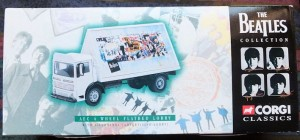 W50.2 - 672. 3 Corgi  22301 Beatles AEC Flatbed Lorry with Billboards  (1)