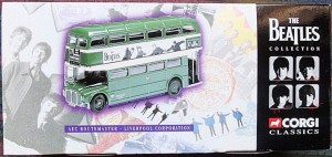 W50.2 - 672.6 Corgi 35009  Beatles AEC Route Master Bus Liverpool Corporation   (1)