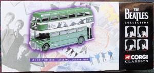 W50.2 - 672.6 Corgi 35009  Beatles AEC Route Master Bus Liverpool Corporation   (1)