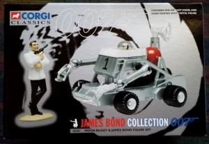 W50.21-674.2 -Corgi 65201 James Bond Collection Moon Buggy  and Bond figure set   (8)