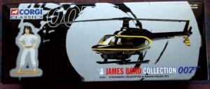 W50.21-674.3 -Corgi 65301 James Bond Collection Stromberg Helicopter  and Naomi figure set   (1)