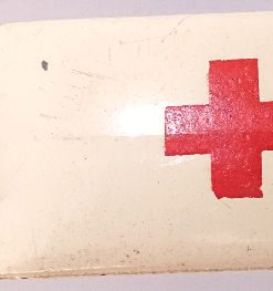 Matchbox 1.75 Reg # 14b - Daimler Ambulance 58mm Cream (3)