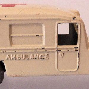 Matchbox 1.75 Reg # 14b - Daimler Ambulance 58mm Cream (5)