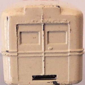 Matchbox 1.75 Reg # 14b - Daimler Ambulance 58mm Cream (6)