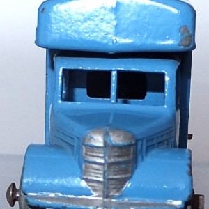 Matchbox 1.75 Reg # 17a - Bedford Matchbox Removals Service - Lt Blue (2)