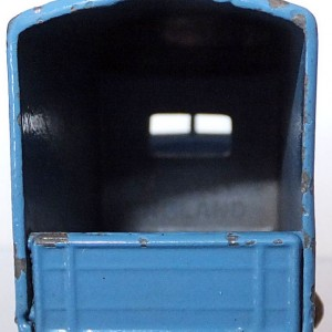 Matchbox 1.75 Reg # 17a - Bedford Matchbox Removals Service - Lt Blue (4)