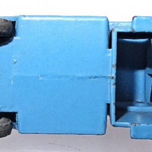 Matchbox 1.75 Reg # 17a - Bedford Matchbox Removals Service - Lt Blue (5)