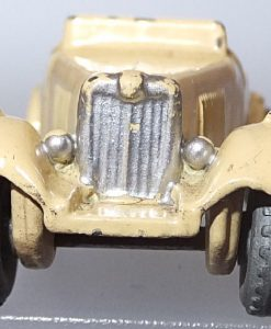 Matchbox 1.75 Reg # 19a - Triump TD sports car -cream . no driver (1)