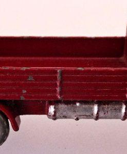Matchbox 1.75 Reg # 20b ERF Stake Truck -57mm - maroon  silver trim (10)