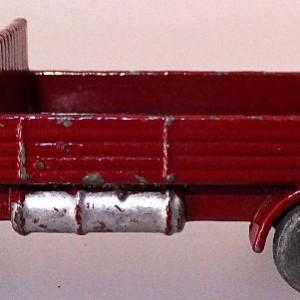Matchbox 1.75 Reg # 20b ERF Stake Truck -57mm - maroon  silver trim