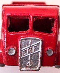 Matchbox 1.75 Reg # 20b ERF Stake Truck -57mm -red silver trim (4)