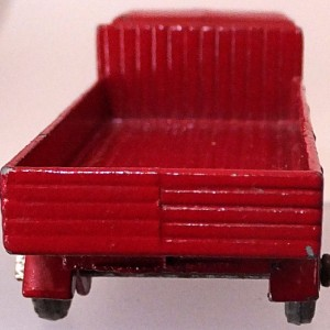 Matchbox 1.75 Reg # 20b ERF Stake Truck -57mm -red silver trim (6)