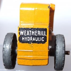 Matchbox 1.75 Reg # 24a -Weatherhill Hydraulic Excavator (1)