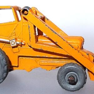 Matchbox 1.75 Reg # 24a -Weatherhill Hydraulic Excavator