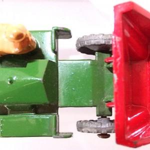 Matchbox 1.75 Reg # 2a - Muir Hill Dumper - ManuFacturing Error -Bucket reversed - 45mm (10)