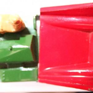 Matchbox 1.75 Reg # 2a - Muir Hill Dumper - ManuFacturing Error -Bucket reversed - 45mm (4)