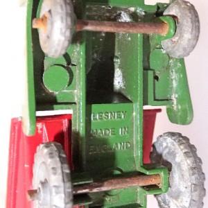 Matchbox 1.75 Reg # 2a - Muir Hill Dumper - ManuFacturing Error -Bucket reversed - 45mm (6)