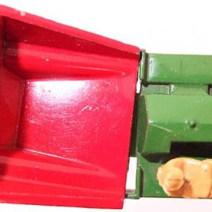 Matchbox 1.75 Reg # 2a - Muir Hill Dumper - ManuFacturing Error -Bucket reversed - 45mm (7)
