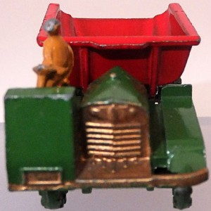 Matchbox 1.75 Reg # 2b Muir Hill Dumper - Smaller early version - 42mm (2)