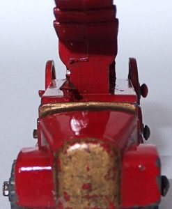 Matchbox 1.75 Reg # 9a - Dennis Fire Brigade -early version - gap below drivers feet (8)