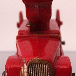 Matchbox 1.75 Reg # 9a - Dennis Fire Brigade - later version more pronounced front bumper (2)