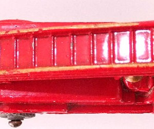 Matchbox 1.75 Reg # 9a - Dennis Fire Brigade - later version more pronounced front bumper (7)