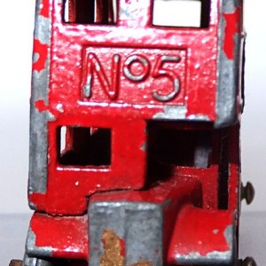 Matchbox 1.75 Reg # Red No.5 London Bbus - Buy Matchbox (1)