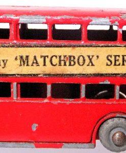 Matchbox 1.75 Reg # Red No.5 London Bbus - Buy Matchbox
