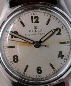 L633 - Rolex Oyster Royal  -ref 4444 Scooped Bezel -1945c (2)