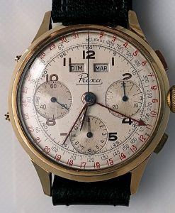 L634 - Prexa 18ct Chrono - 1957 -1960c (9)