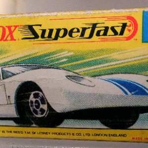 MB 41 Ford GT - box only
