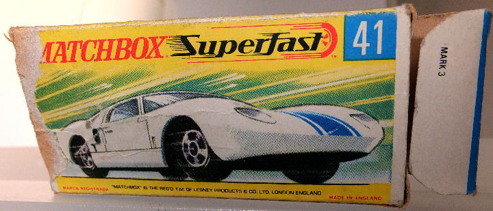 Mb  Ford Gt Box Only
