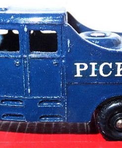 MatchBox M6 Pickfords 200ton Transporter - rrare brigth red (6)