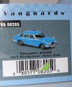 PMcA 11.5 - MB V08205 .Triumph 2500 Met Divisional Area Car (15)