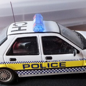 PMcA 11.7 -MB V10001 Ford Sierra Sapphire Cosworth 4x4 - Devon and Cornwall Constabulary (9)