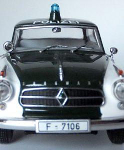 PMcA 9.8 - Borgward Isabella 1959- Frankfurt Police - 400 096090 (10)