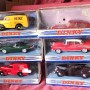 JUL 201.203.204.205.207.208 - Matcbox Dinky Collection