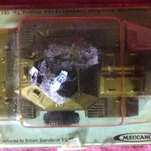 Julian  213 - Dinky #680 Ferret Armoured Car (1)