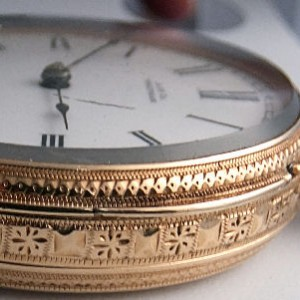 L568 - Waltham Royal 10ct Gold Fobwatch (7)