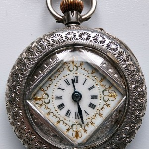L636.14 - Silver Swiss Fobwatch -1900c (1)