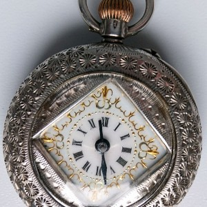 L636.14 - Silver Swiss Fobwatch -1900c (2)