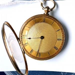 L636.6 - 18ct Gold Swiss Lepine - 1875c (10)