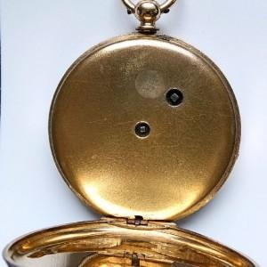 L636.6 - 18ct Gold Swiss Lepine - 1875c (12)