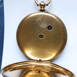L636.6 - 18ct Gold Swiss Lepine - 1875c (13)