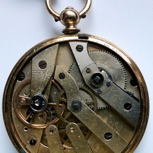 L636.6 - 18ct Gold Swiss Lepine - 1875c (17)