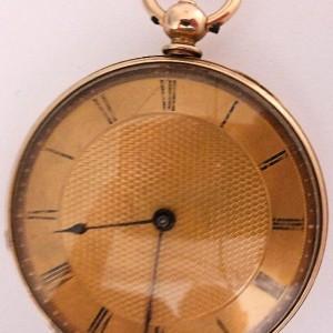 L636.6 - 18ct Gold Swiss Lepine - 1875c (2)