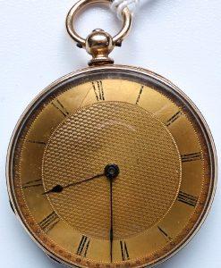 L636.6 - 18ct Gold Swiss Lepine - 1875c (7)
