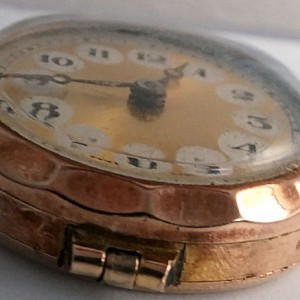 L636.7 - 9ct Gold Telephone Style Wristwatch (7)